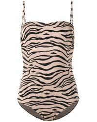 Prism - Brown Bathsheba Tiger One-piece Swimsuit - Lyst