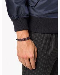 Valentino - Multicolor Garavani Rockstud Bracelet for Men - Lyst