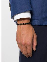 Fefe - Black Stone Bracelet for Men - Lyst