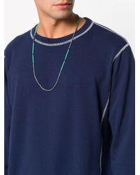 M. Cohen - Green Beaded Necklace for Men - Lyst