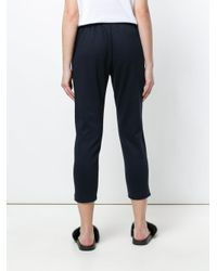 Markus Lupfer - Blue Cropped Sweatpants - Lyst