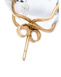 Melissa Joy Manning - Metallic Caged Herkimer Diamond Earrings - Lyst