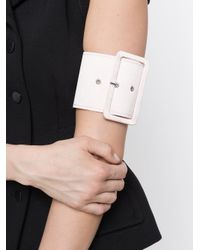 16Arlington - Pink Buckle Belt Bracelet - Lyst