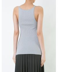 Dion Lee - Gray Pinacle Knit Cami - Lyst