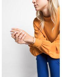 David Yurman - Metallic 18kt Yellow Gold Cable Spira Turquoise Cuff Bracelet - Lyst