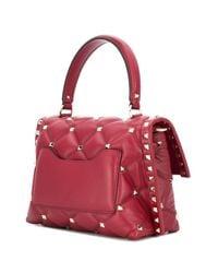 Valentino - Red Garavani Candystud Tote - Lyst