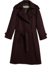 Burberry - Black Trench Coat - Lyst