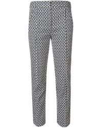 Tory Burch - White Cameron Trousers - Lyst