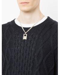 Www. Will Shott - Metallic Elevator Chain Necklace for Men - Lyst