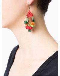 Serpui - Multicolor Beaded Earrings - Lyst
