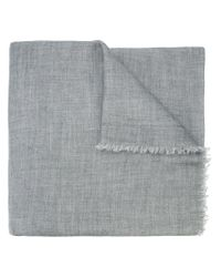 Denis Colomb - Gray Classic Scarf for Men - Lyst