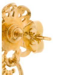 Gas Bijoux - Metallic Sao Earrings - Lyst