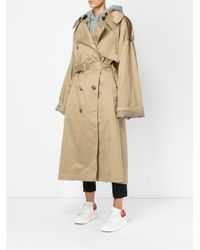 Juun.J - Natural Button Up Trench Coat - Lyst