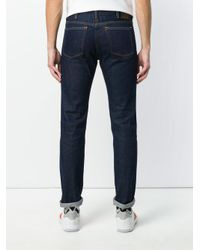 PS by Paul Smith - Blue Rigid Western Twill Jean S for Men - Lyst