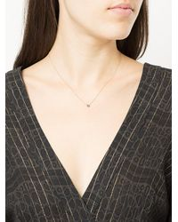 Alison Lou - Metallic 14kt Yellow Gold Salt Diamond Necklace - Lyst
