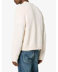 Our Legacy - White Sonar Round Neck Jumper for Men - Lyst