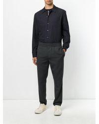 Maison Margiela - Black Button Over Zipped Shirt for Men - Lyst
