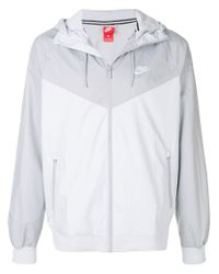 f4d2d96e36 Lyst - Nike Windrunner Zipped Jacket in Gray for Men