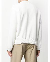 OAMC - White Zip Chain Sweatshirt for Men - Lyst
