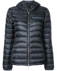 Closed - Blue Classic Padded Jacket - Lyst