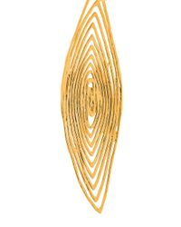 Gas Bijoux - Metallic 'longwave' Small Size Earrings - Lyst