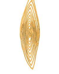 Gas Bijoux - Metallic 'longwave' Small Size Earrings - Lyst