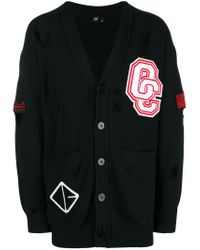 Opening Ceremony - Black Buttoned Cardigan - Lyst