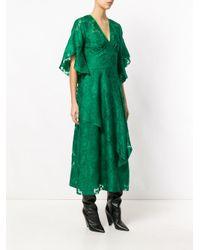 Fendi - Green Daisy Motif Dress - Lyst