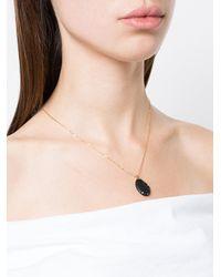 Cvc Stones - Black Pendant Necklace - Lyst