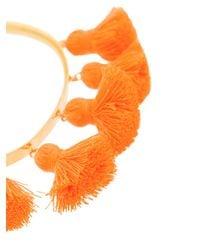 Marte Frisnes - Orange Raquel Tassel Bangle - Lyst