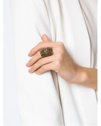 Camila Klein - Multicolor Embellished Ring - Lyst
