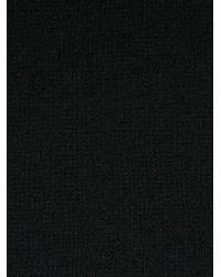 RED Valentino - Black Sudadera con detalle de hebilla - Lyst