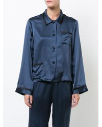 Morgan Lane - Blue Ruthie Pyjama Top - Lyst