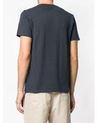 Maison Kitsuné - Gray Double Fox T-shirt for Men - Lyst