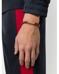 Northskull - Red Kamol Bracelet for Men - Lyst