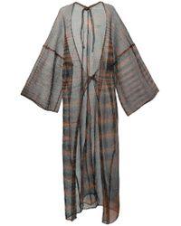 Osklen | Multicolor Long Sheer Jacket | Lyst