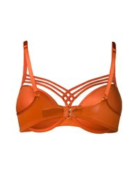 Marlies Dekkers - Orange Dame De Paris Push-up Bra - Lyst