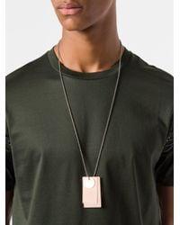 Jil Sander - Multicolor Halskette mit Erkennungsmarken for Men - Lyst