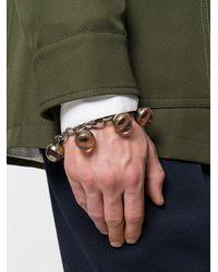 Marni - Metallic Charm Bracelet for Men - Lyst