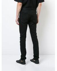 John Elliott Black Skinny Jeans for men