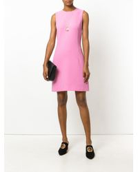 Dolce & Gabbana - Pink Classic Shift Dress - Lyst