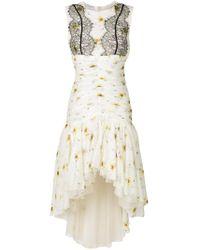 Giambattista Valli - White Floral Lace Dress - Lyst