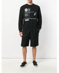 McQ Alexander McQueen - Black Graphic Print Sweatshirt for Men - Lyst