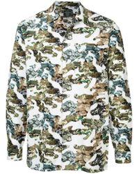 Loveless - Green Camouflage Shirt for Men - Lyst
