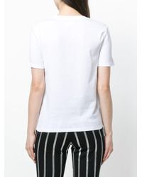 Each x Other - White Embellished Slogan T-shirt - Lyst