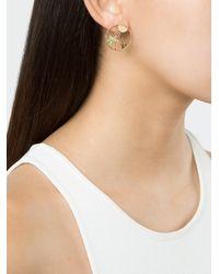 Yvonne Léon - Multicolor Sapphire Palm Tree Sun Earring Set - Lyst