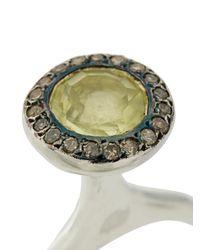 Rosa Maria - Metallic Talle Ring - Lyst
