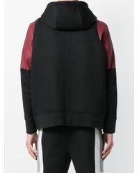 Neil Barrett Black Textured Vest for men