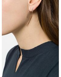 Maria Black - Metallic 14kt Rose Gold Elodie Twirl Earring - Lyst