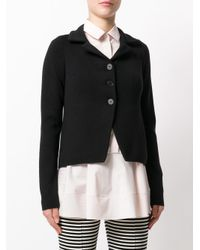 Jil Sander - Black Fitted Jacket - Lyst